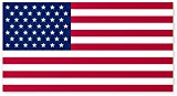 American Flag Car Magnet – 4 X 6 – Weather and UV Resistant from Flexible Magnets