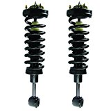 MOTORMAN 841361F Front Strut and Coil Spring with Mount Set 4WD/4X4 – Both Left and Right – Pair of 2