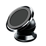 Aokeo Car Mount Kit for Cellphones, Magnetic Ball Or Clamp Dash Mount (Black – Ball)