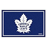FANMATS NHL Toronto Maple Leafs Nylon Face 4X6 Plush Rug