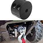 Winch Cable Hook Stopper Rubber Line Saver with Allen Wrench for ATV UTV Winches