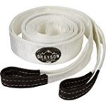 Grayson Outfitters Recovery Strap 20 Foot, 30,000 LBS; Heavy Duty Tow Strap And 4×4 Off Road Hauling Sling