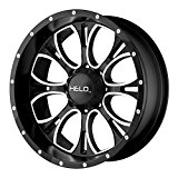 Helo HE879 Wheel with Gloss Black Milled (18×9″/6x135mm)