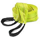 HFS (Tm) 30ft X 4″ Recovery Strap 10ton Polyester Tow Strap , 10,000lbs Working, 20,000lbs Breaking