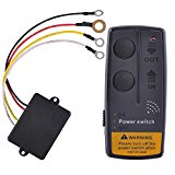 65ft Wireless Winch Remote Control Kit For Jeep ATV SUV UTV 12V Switch Handset
