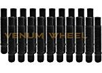 20 Pc 12×1.5 90mm Long Black Stud Conversion Kit For BMW Vehicles M12x1.5 (Replaces Lug Bolts)