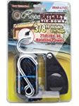 Carolina North 10020 3/8″ Rope Ratchet with 8′ Solid Braided Polypropylene Rope, 250-lb. Capacity
