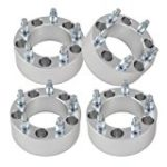 Set of 4 | 1.5″ 5×5.5 (5×139.7) Wheel Spacers | Fits Dodge Ram 1500 Ford F-100 Bronco Jeep CJ | 1/2″ Studs