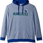 VF LSG Right Intentions Program NBA Men's Long Sleeve Pullover Hood, Large, Deep Royal Heather-Deep Royal-Kelly Green